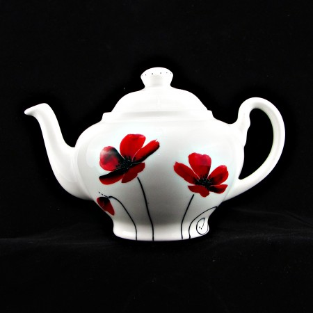 Poppy-Large Teapot