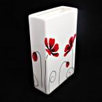 Poppy- Slab vase