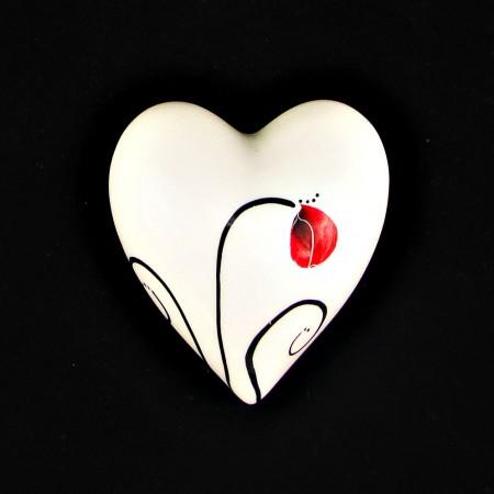 Poppy - Small Wall Heart