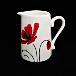 Poppy-Small tapered jug