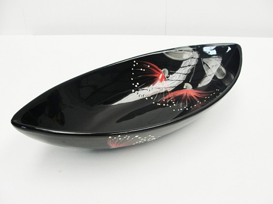 keriblue-ceramics-boat-dish-large-pohutukawa-black