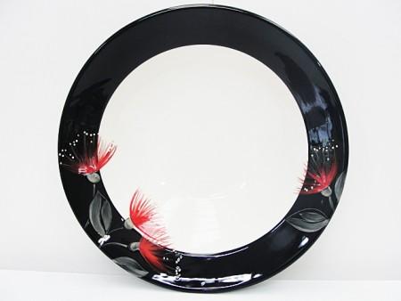 keriblue-ceramics-bowl-rimmed-37cm-pohutukawa-black