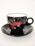 keriblue-ceramics-cup-saucer-pohutukawa-black