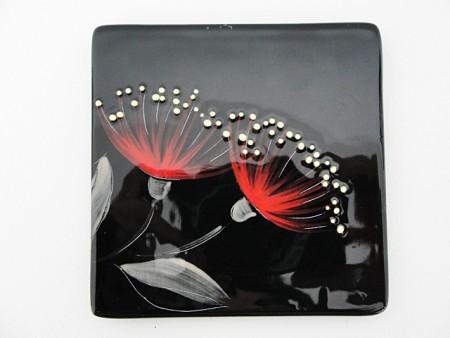 keriblue-ceramics-medium-sushi-dish-pohutukawa-black