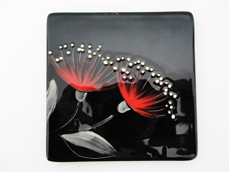 keriblue-ceramics-small-sushi-dish-pohutukawa-black