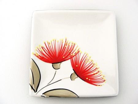 keriblue-ceramics-tray-15cm-white-pohutukawa