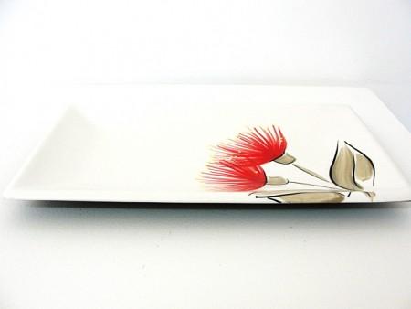keriblue-ceramics-tray-25cm-white-pohutukawa